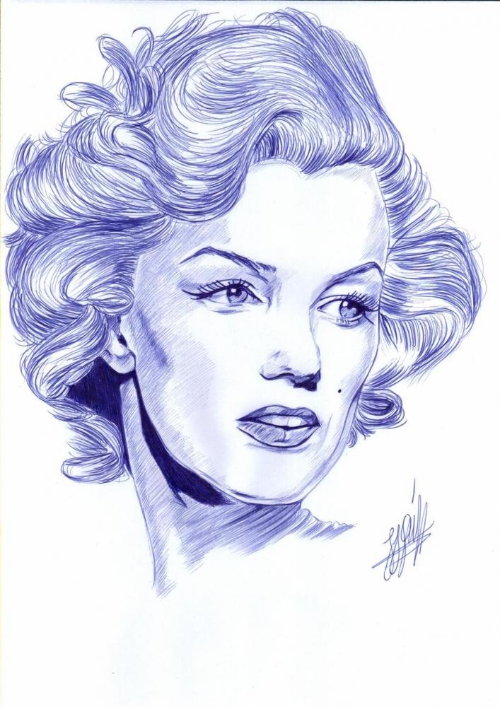 Marilyn Monroe by jjg2018